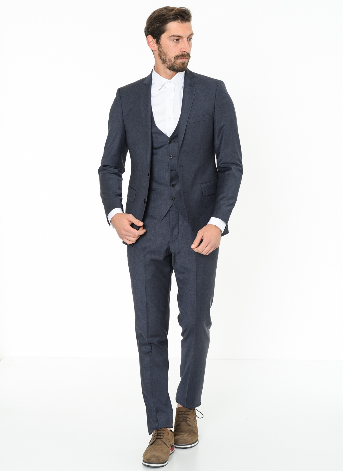 cd2f481b64035 Beymen Business Erkek Takım Elbise Lacivert   Morhipo   21327975